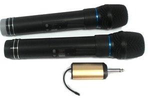 無線雙頻UHF手握麥克風
