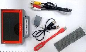 5吋 LED 監視測試儀器 4合1 5M-AHD/4M-CVI.TVI/同軸CVBS